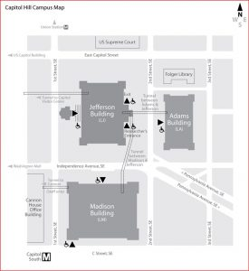Map Capitol Hill